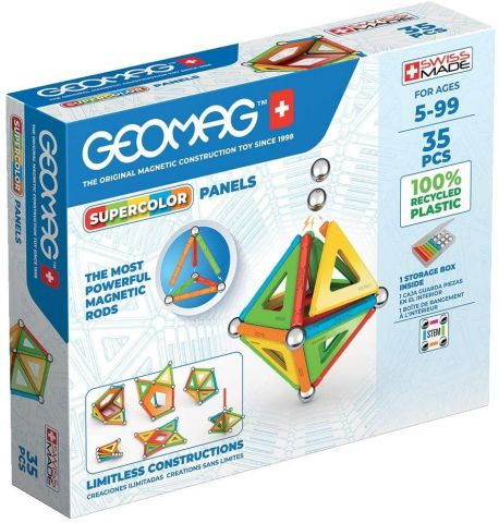 GEOMAG GREEN SUPER COLORS PANELS  TOY PARTNER