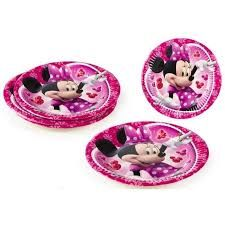 PACK 8 PLATOS MINNIE 19.5 Cm