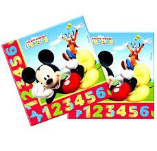 PACK 20 SERVILLETAS MICKEY