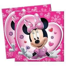 PACK 20 SERVILLETAS MINNIE