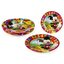 PACK 8 PLATOS MICKEY 19.5 Cm