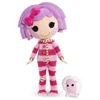 LALALOOPSY DOLL PILLOW FEATHERBED