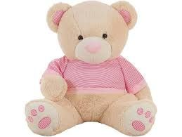 PELUCHE OSO BY PINK 45 CM