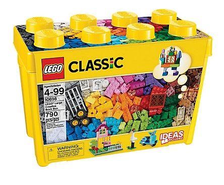 LEGO CAJA LADRILLOS CREATIVOS GRANDE 10698