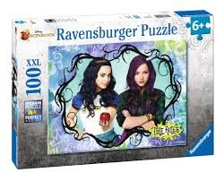 PUZZLE RAVENS 100 PZAS XXL DESCENDANTS