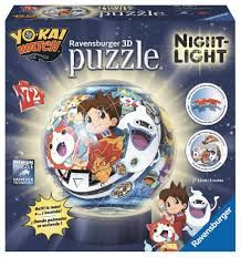 PUZZLE 3D LAMPARA YO-KAI WATCH