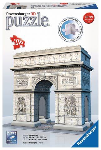PUZZLE 3D ARCO DEL TRIUNFO 216 PZAS RAVENSBURGER