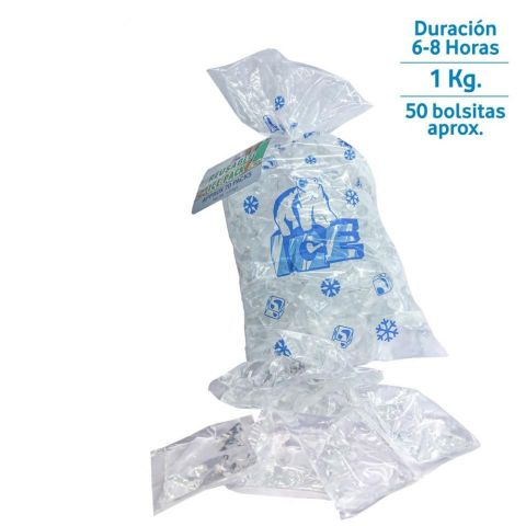 SET 50 BOLSAS HIELO REUTILIZABLE