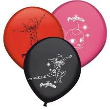 GLOBOS LATEX LADY BUG X8