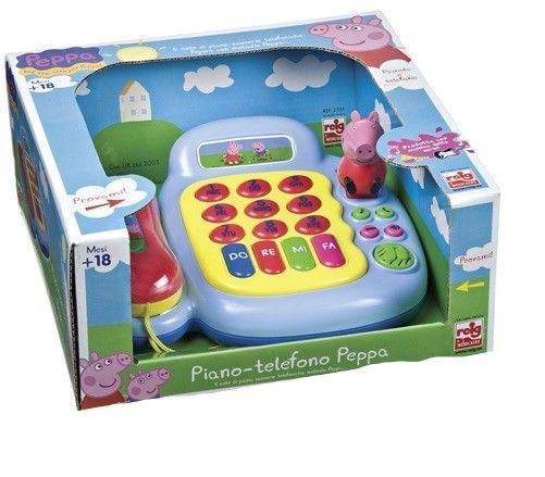PEPPA PIG TELEF. Y PIANO C/ FIG