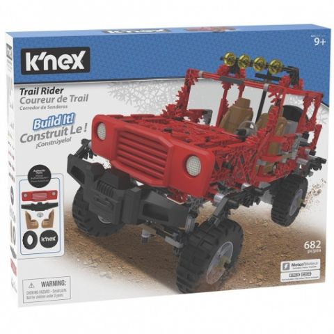 SUPER TODO TERRENO K´NEX 682 PCS