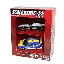 PACK DUO COCHES SCALEXTRIC