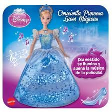CENICIENTA PRINCESA LUCES MAGICAS